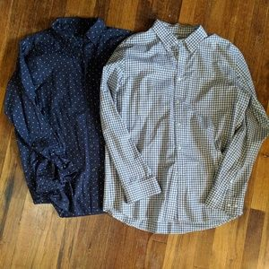 Uniqlo Men's Button Up Shirt Lot of 2 XL